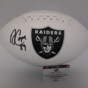 AMARI COOPER AUTOGRAPHED LOS ANGELES RAIDERS LOGO FOOTBALL