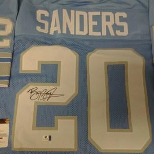 Barry Sanders Detroit Lions signed autographed Jersey