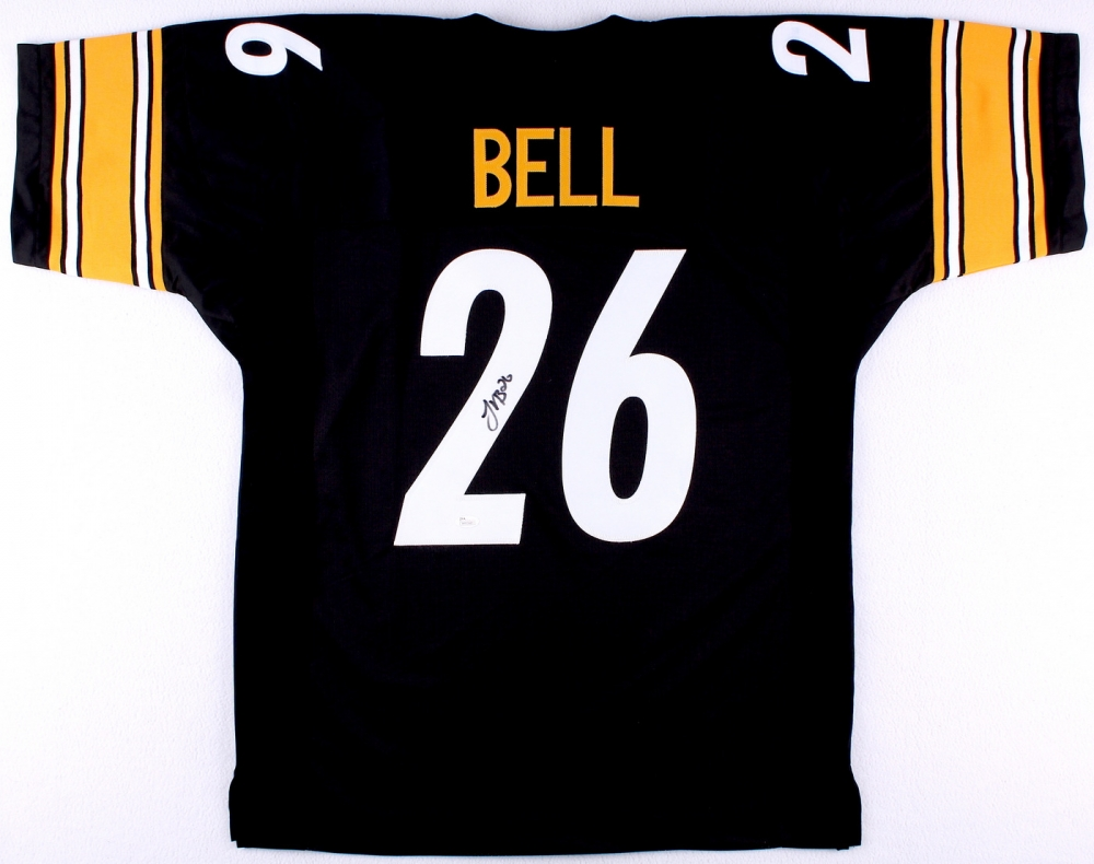 a7c07e82e Le Veon Bell Pittsburgh Steelers signed football jersey