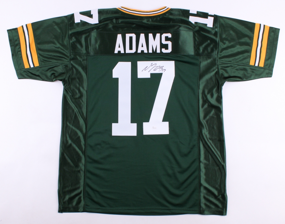 Davante Adams Signed Green Bay Packers Jersey » Budd s Collectibles ee3f53dea