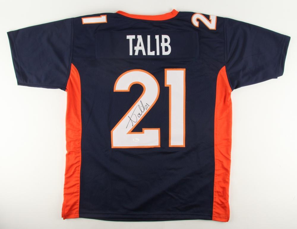 factory price 6f924 0f97b Aqib Talib Signed Denver Broncos Jersey » Budd's Collectibles