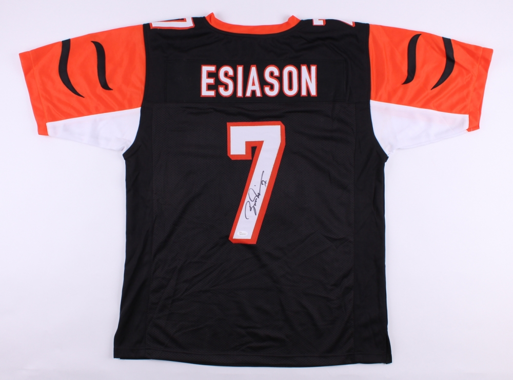 Boomer Esiason Signed Cincinnati Bengals Jersey » Budd s Collectibles fe4d30bff