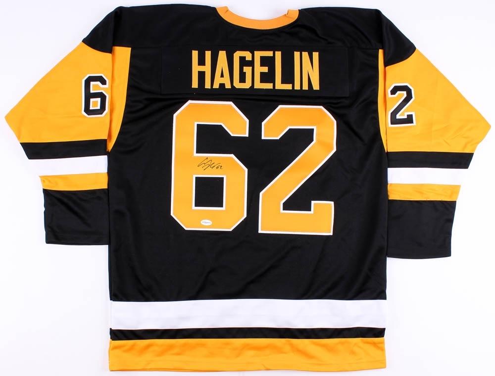 huge discount 545a8 66424 Carl Hagelin Signed Pittsburgh Penguins Jersey » Budd's Collectibles