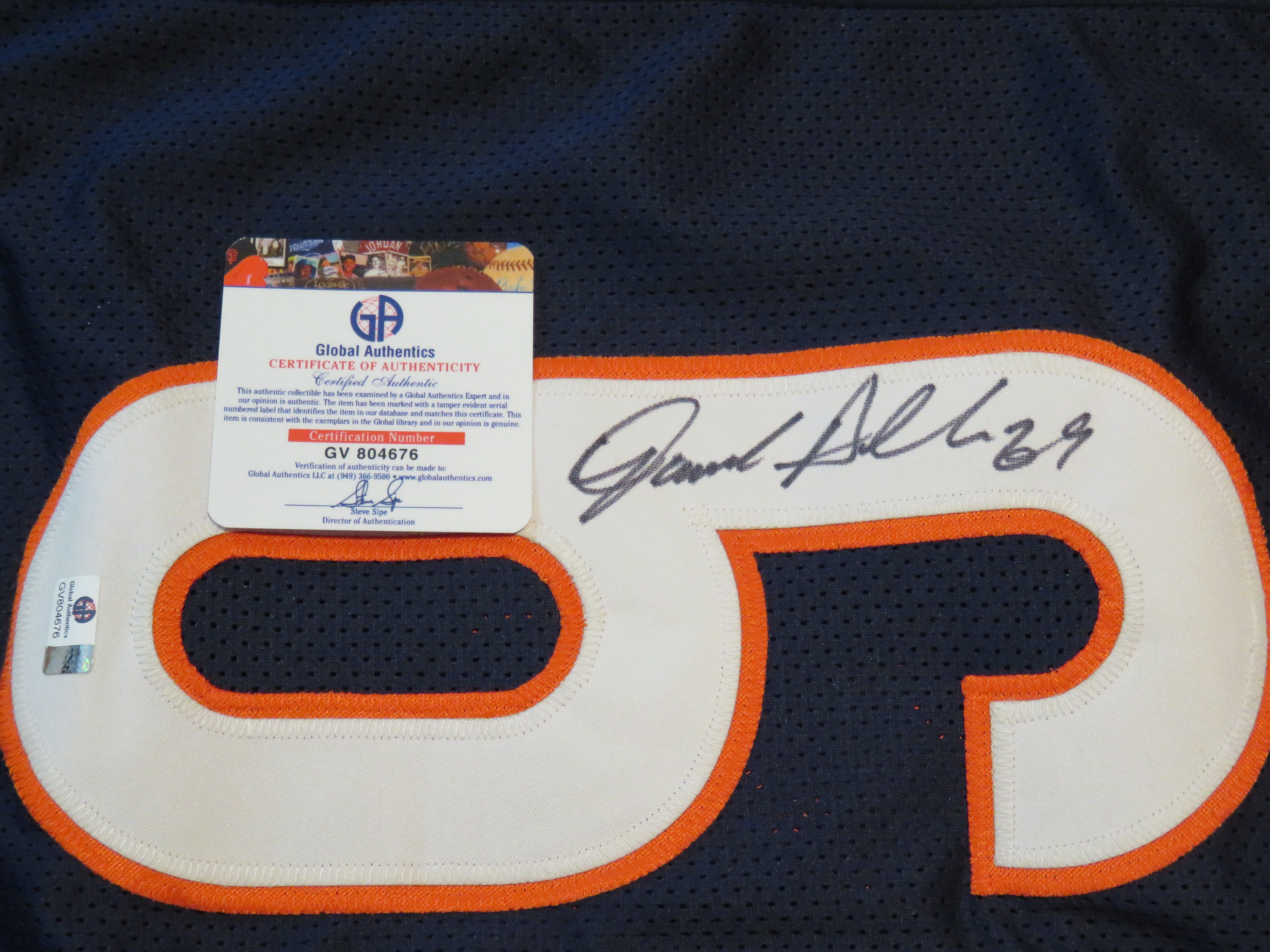 e7b0e3d3225 Jared Allen Signed Chicago Bears Jersey » Budd s Collectibles
