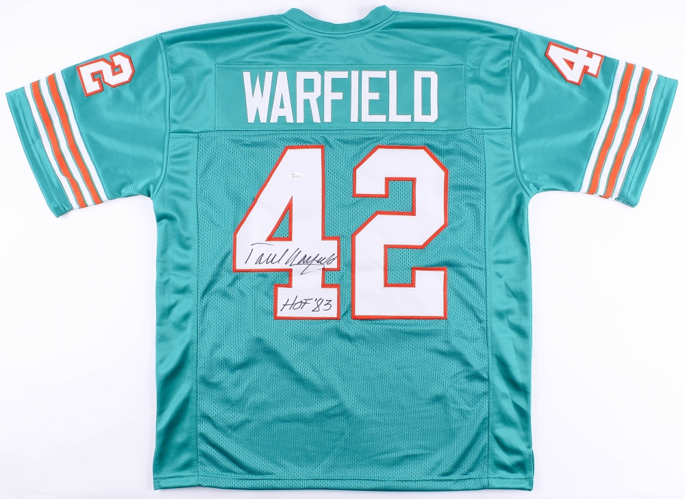 low priced e0c7a e1853 Paul Warfield Signed Miami Dolphins Jersey » Budd's Collectibles