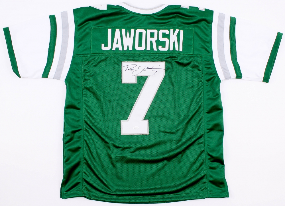 separation shoes 77a9d 56adc Ron Jaworski Signed Philadelphia Eagles Jersey » Budd's Collectibles