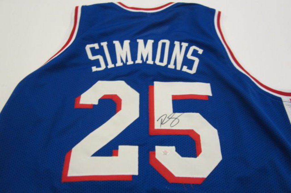 Ben Simmons Philadelphia 76ers signed Jersey » Budd s Collectibles 742a671a8