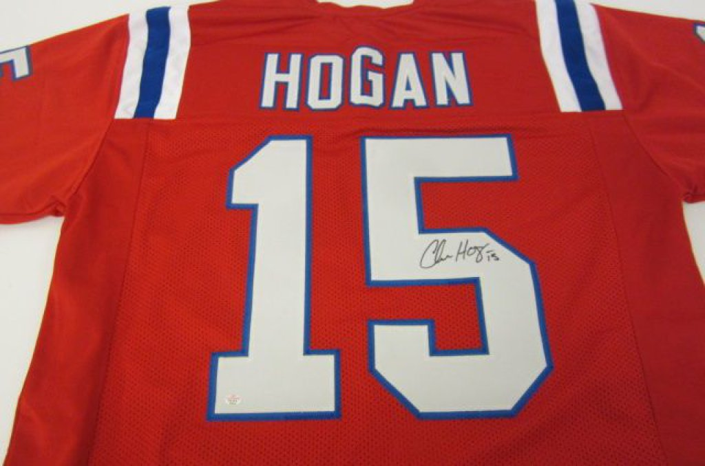 hot sale online 4551f c5b61 Chris Hogan New England Patriots signed Jersey » Budd's Collectibles