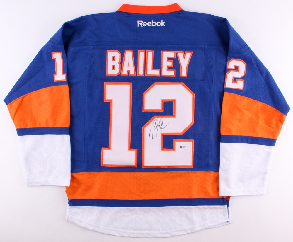 buy online 491f0 128b3 Josh Bailey Signed New York Islanders jersey » Budd's Collectibles