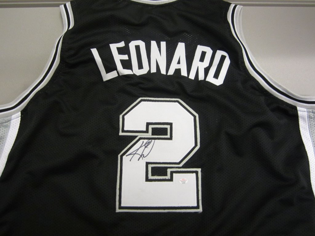 super popular cfbe2 c42ce Kawhi Leonard San Antonio Spurs signed jersey » Budd's Collectibles