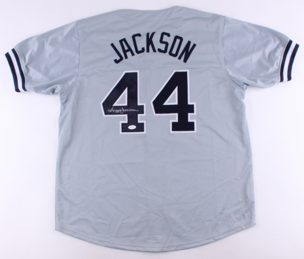 sports shoes 90829 31bf7 Reggie Jackson Signed New York Yankees Jersey » Budd's Collectibles