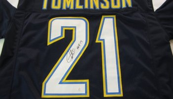 huge selection of d1a59 6d54d Antonio Gates San Diego Chargers signed football jersey ...