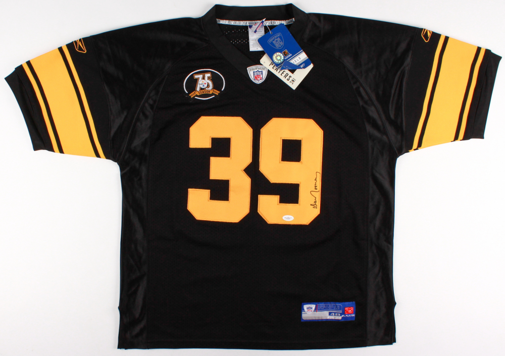 Dan Rooney Signed Pittsburgh Steelers Jersey » Budd s Collectibles e3333c18f