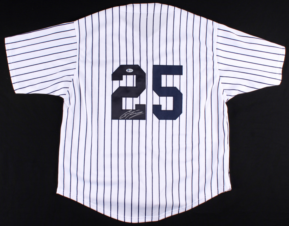 uk availability 7fd3d 021e9 Gleyber Torres Signed New York Yankees Jersey » Budd's Collectibles