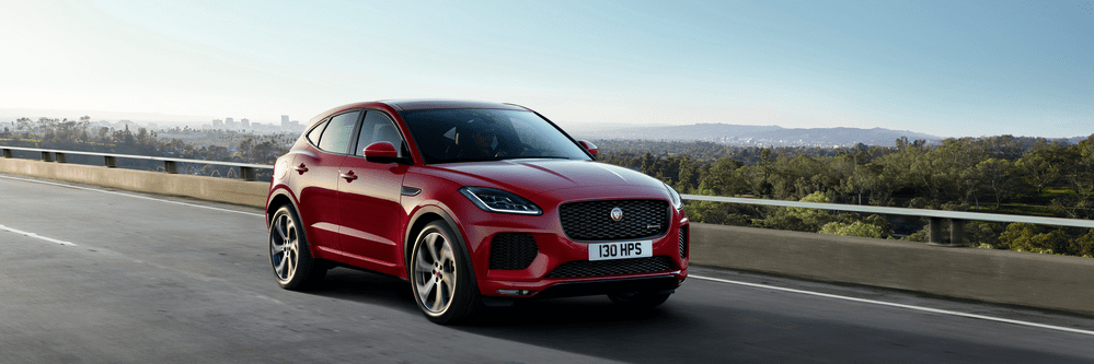 Jaguar E-PACE in the country