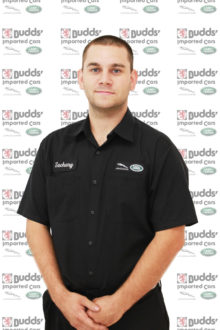 Zach Botelho - Jaguar &amp&#x3B; Land Rover Technician