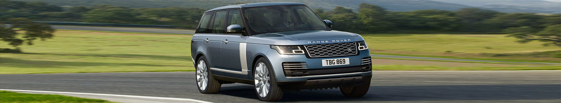 2018 Range Rover Driving on Track