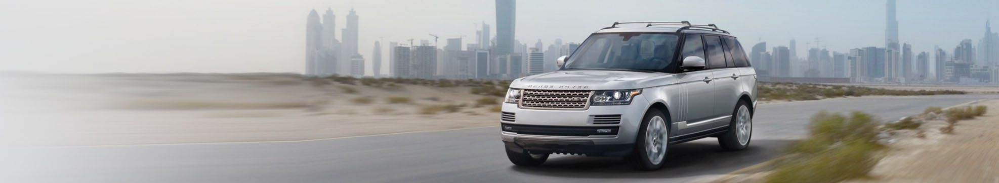 2018 Range Rover Driving on Road