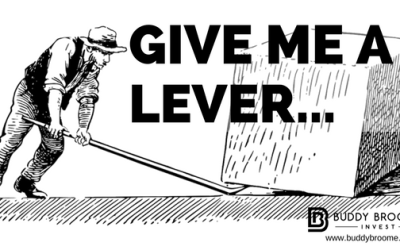 Give Me a Lever….