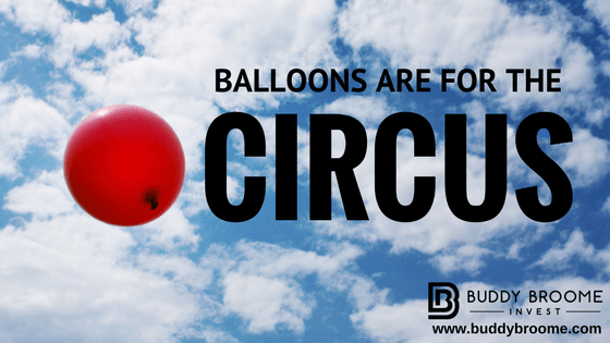 Balloons are for the Circus