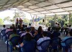 Preaching in Puriscal, Costa Rica