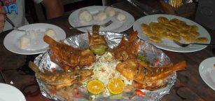 Tilapia Meal on Platter