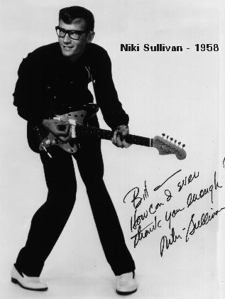 Image result for niki sullivan rockabilly