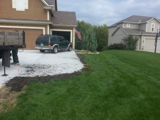 Dirt in place! Ready for seed.