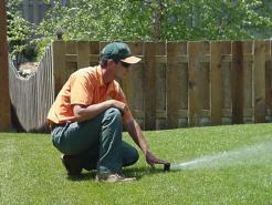 Irrigation adjustment