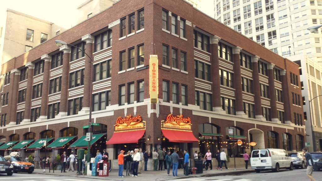 the Magnificent Mile location of Giordano's