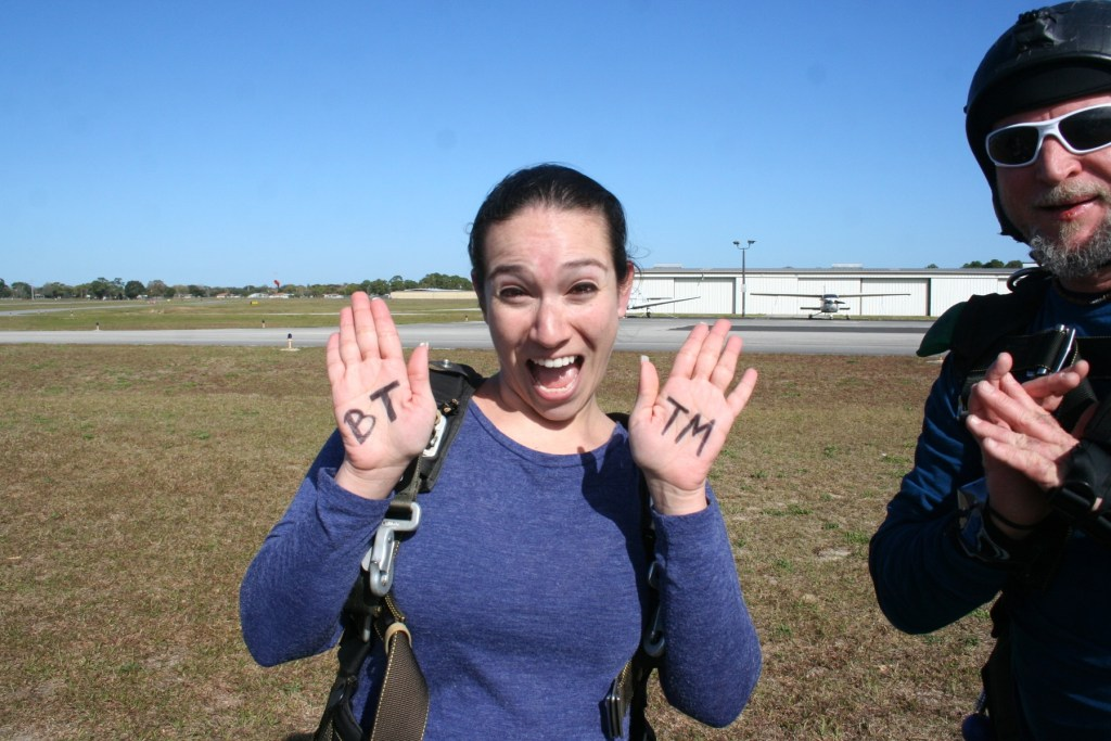 Skydiving in Titusville