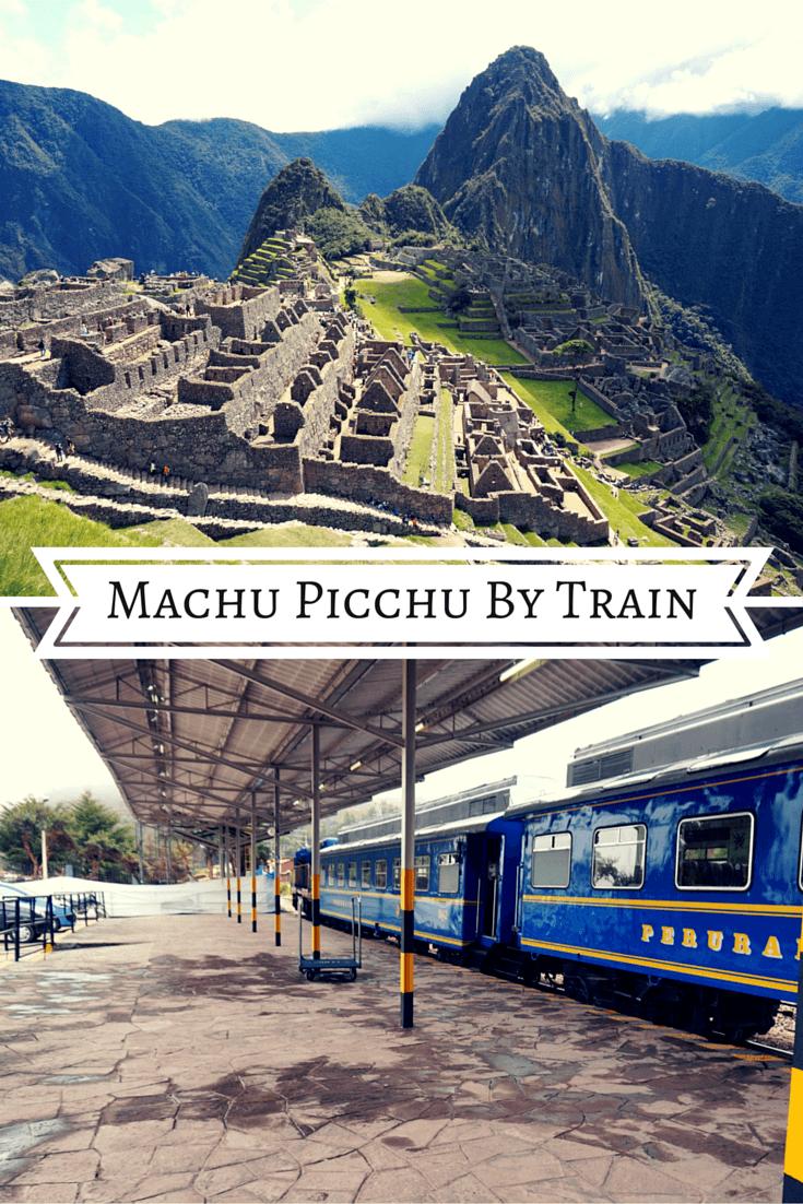 Pinterest Pin for Machu Picchu By Train