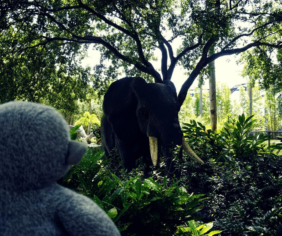 "Enjoying the ""wildlife"" in Legoland Florida"
