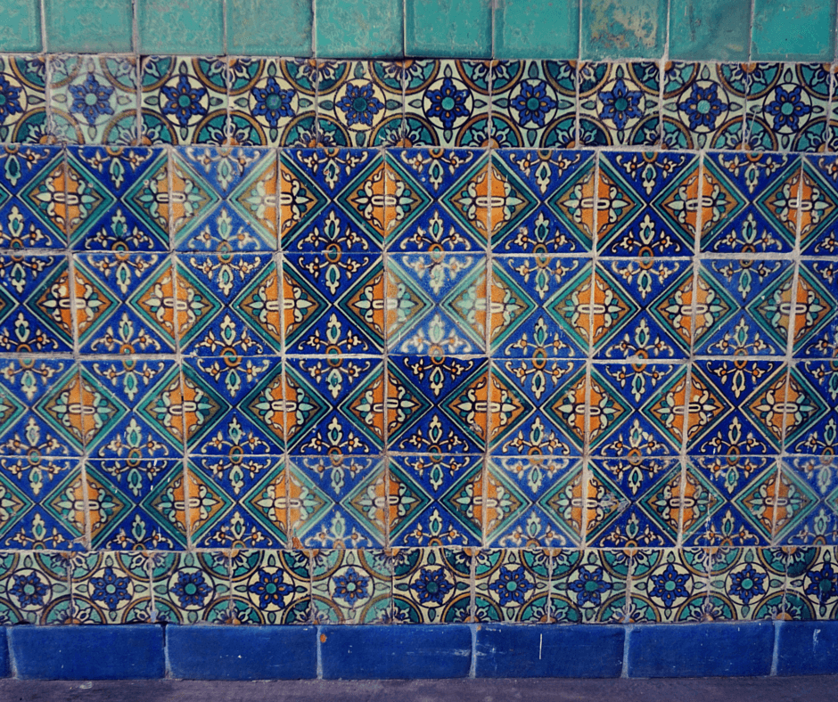 Tiles at the Biltmore Hotel Miami