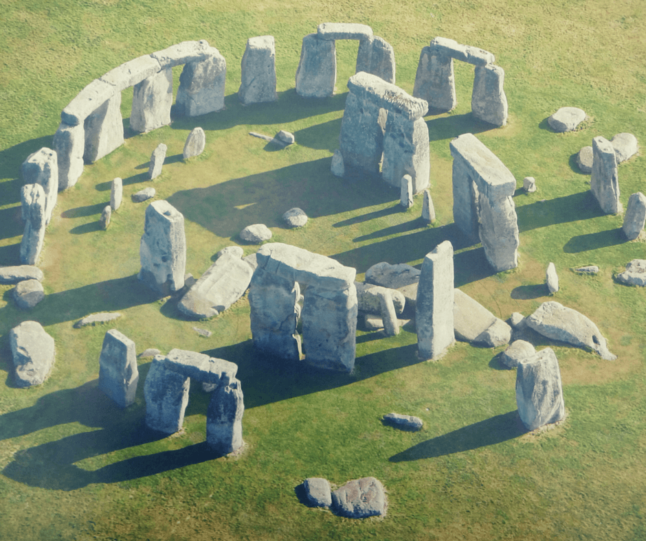 Photo of Stonehenge as seen from above, but is Stonehenge Worth Seeing