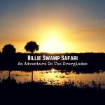 Billie Swamp Safari: An Adventure In The Everglades