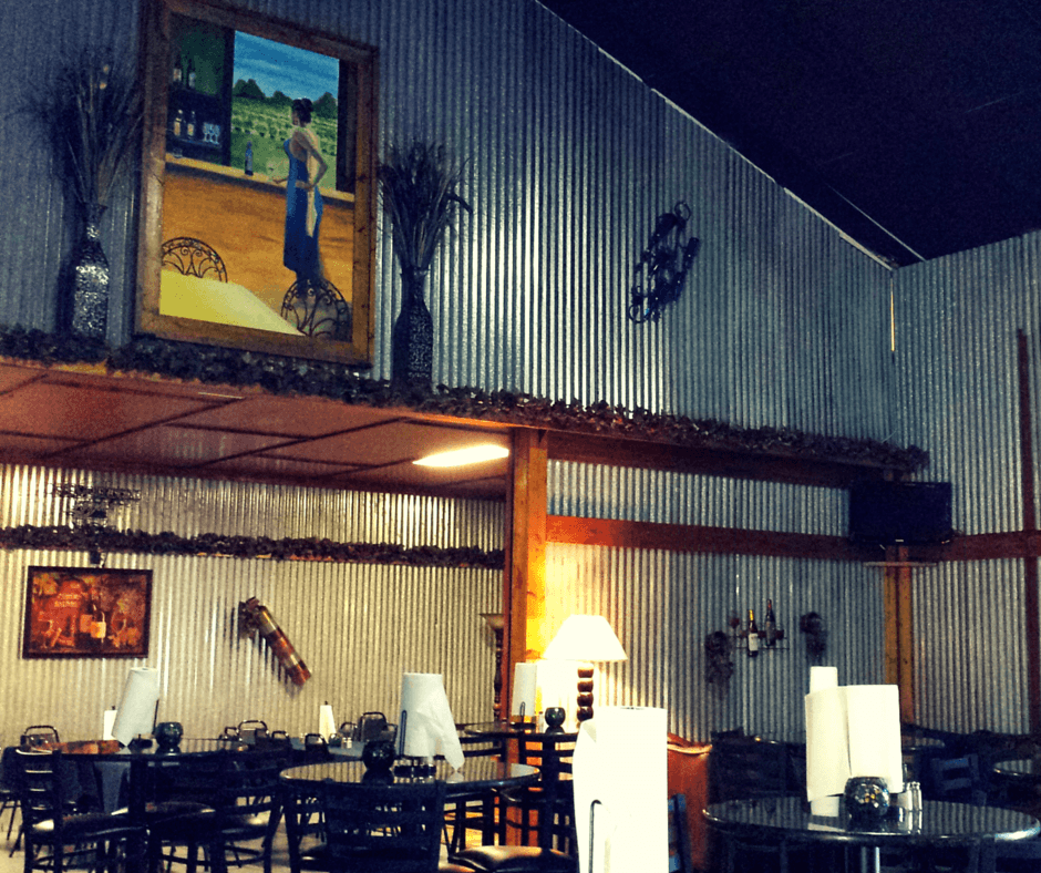 inside True Blue Winery
