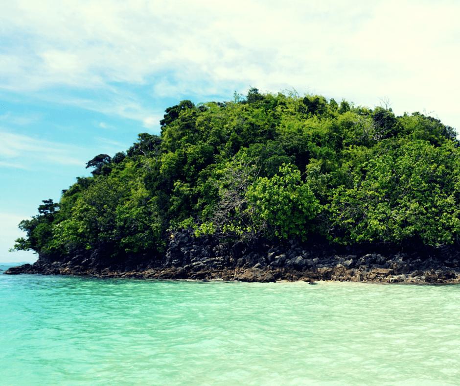 Poda Island and Tup Island