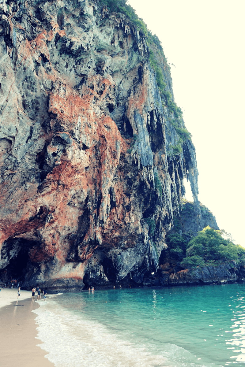Phra Nang Cave Bay on a island tour in thailand