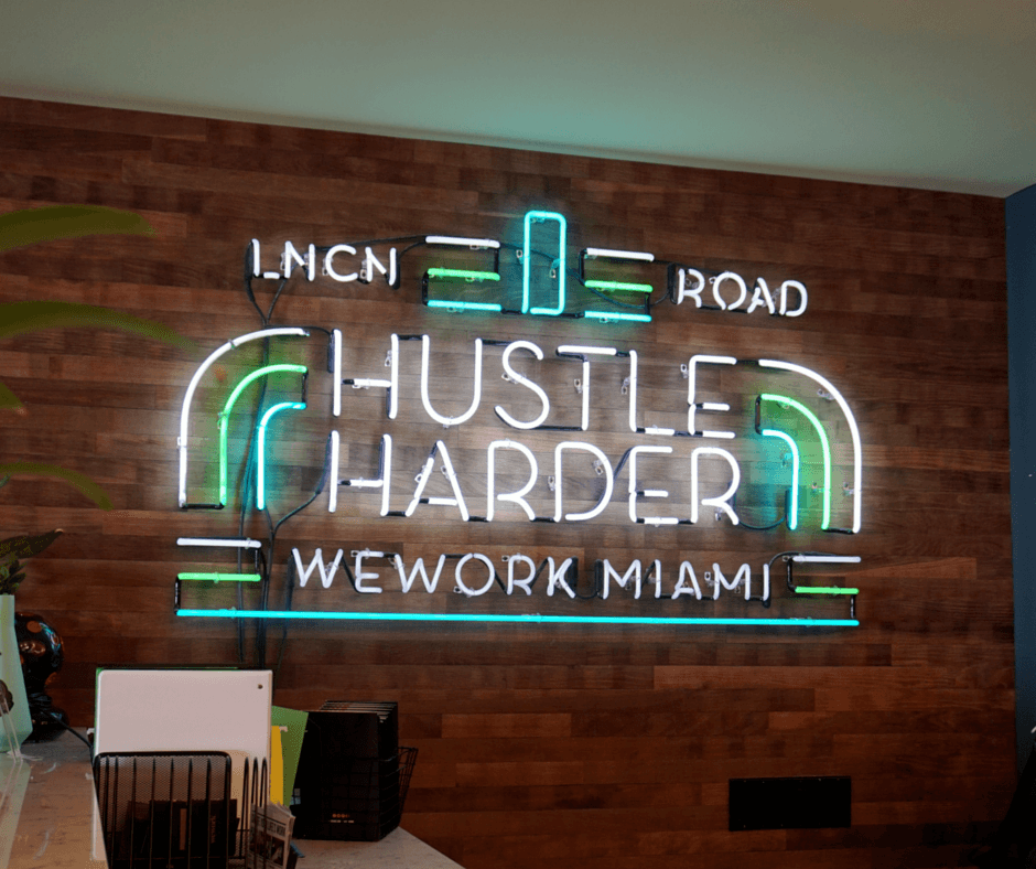 Buddy The Traveling Monkey WeWork Miami Beach