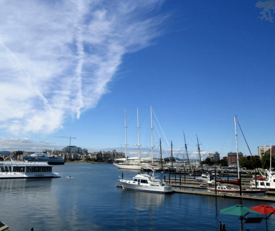 Inner Harbour of Victoria, British Columbia