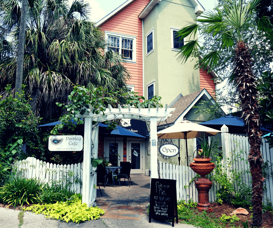 Paisley Cafe is one of the most fun places to eat in Tallahassee