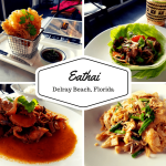 Dinner At Eathai In Delray Beach, Florida