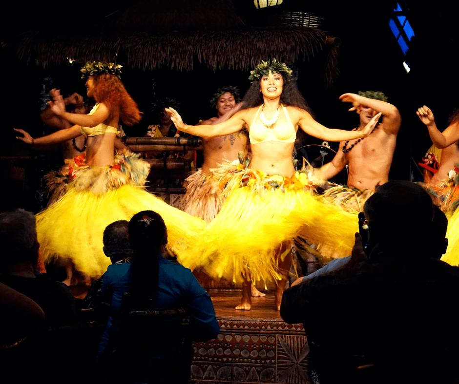 dancing at the Mai-Kai Restaurant