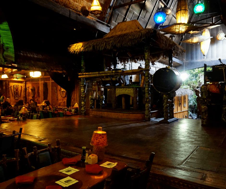 inside Mai-Kai Restaurant