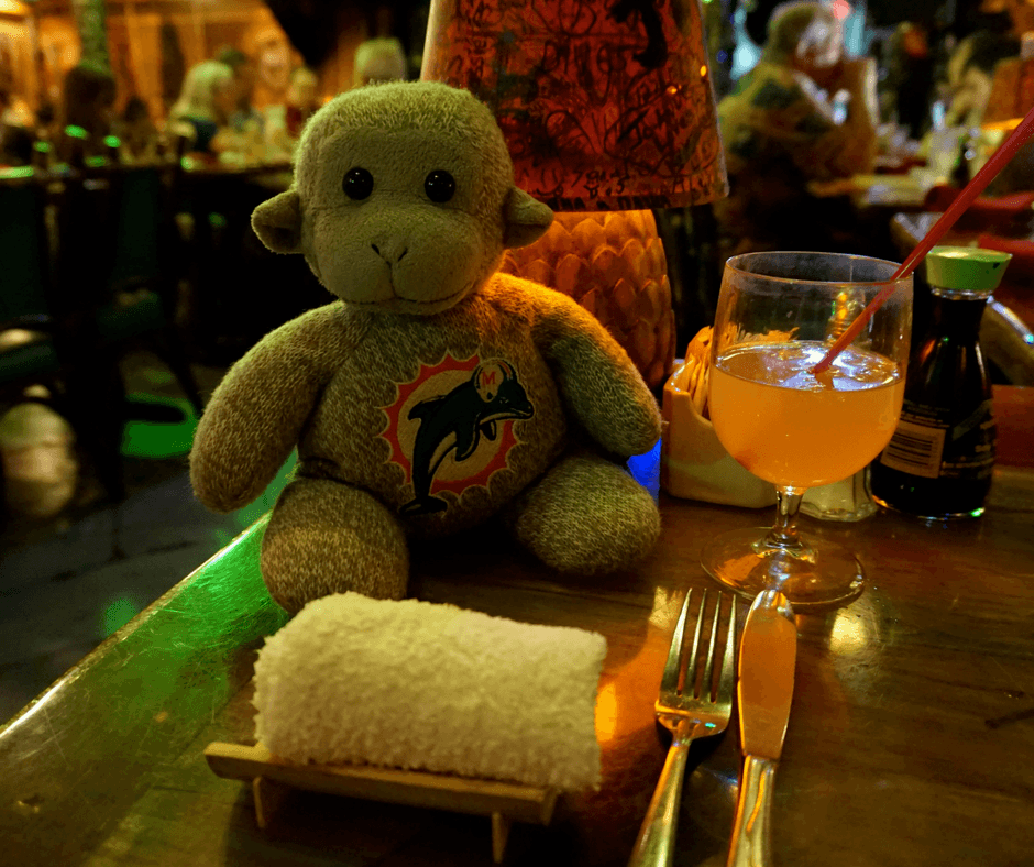 service at Mai-Kai Restaurant