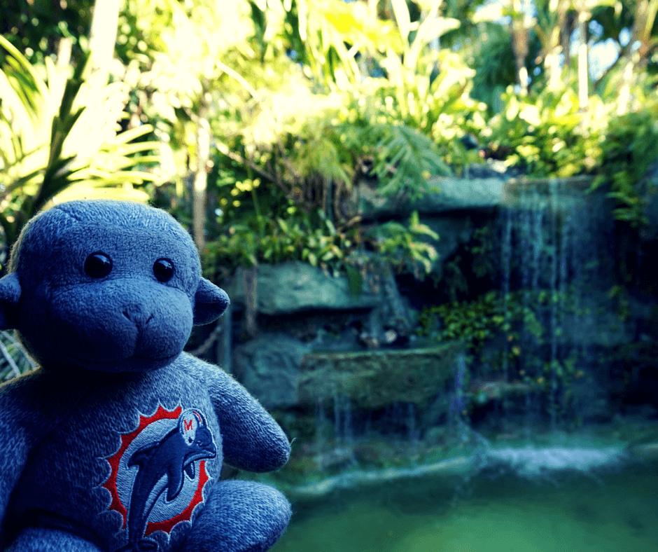 Mai-Kai Restaurant waterfalls