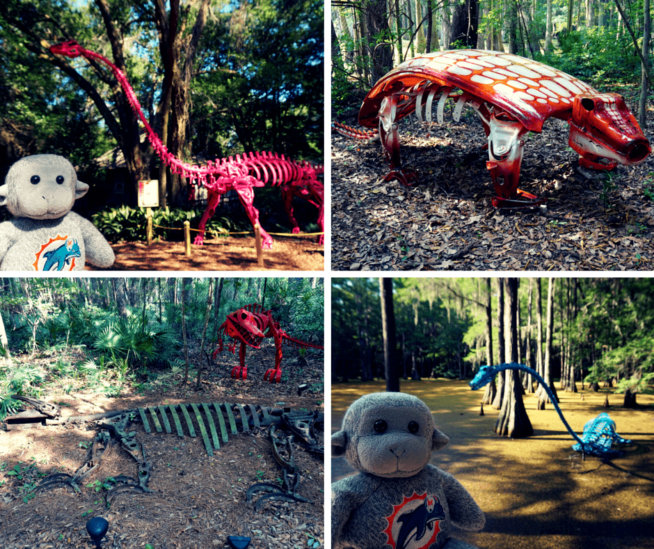 dinosaurs at Tallahassee Museum