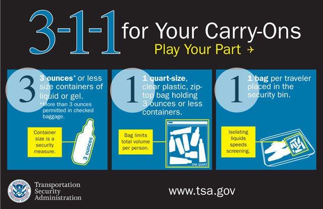 TSA liquid rules