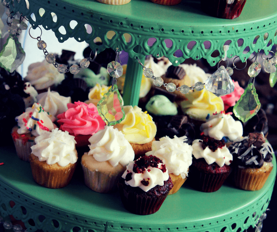 Cupcakes from Cafe Sweets Bakery